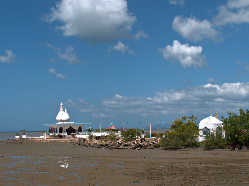 Temple in the Sea, Waterloo.  I had a day before my father was to arrive, so I took a drive south along the western coast to see some of the sights, including this Hindu temple.