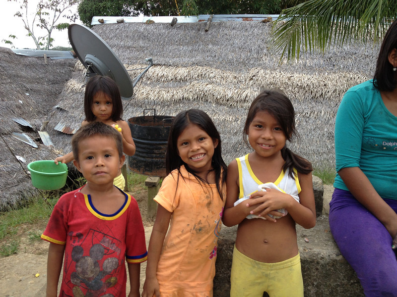 All across indigenous communities you will see lots of children