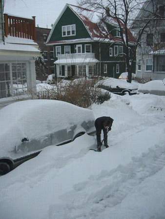 Allston, Blizzard 2003