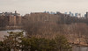 View of Cambridge along Charles River, and Boston beyond, from Mt Auburn Hospital.