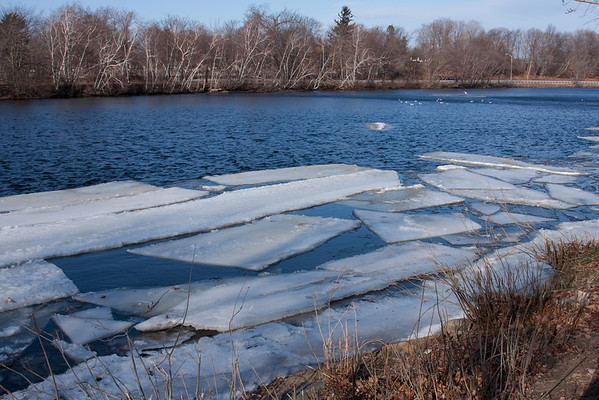 Charles River - Winter