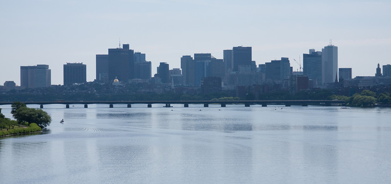 Boston, from BU Bridge