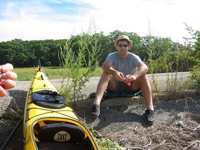 Kayaking in Ipswich, 2003