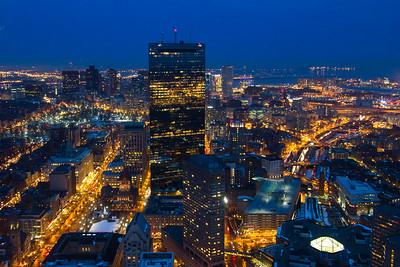 Boston, Night