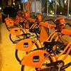 Rio's Orange Bikes