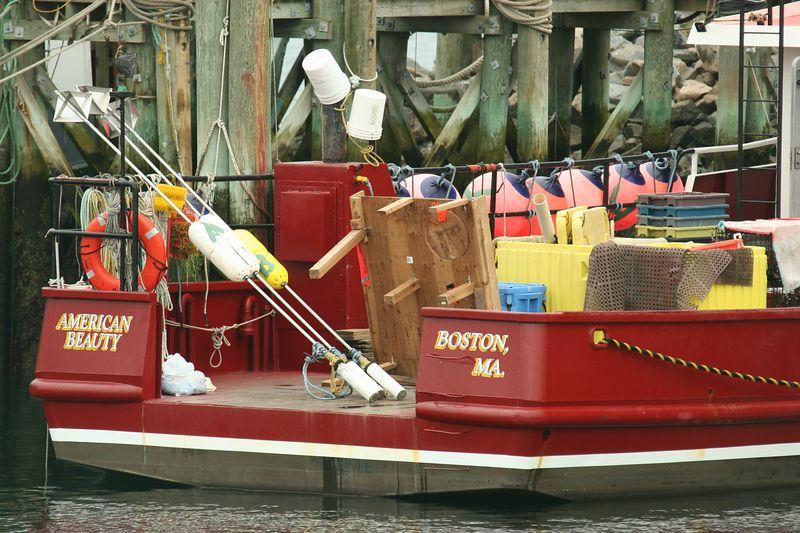 """""""American Beauty"""" - Fishing boat, Sandwich"""