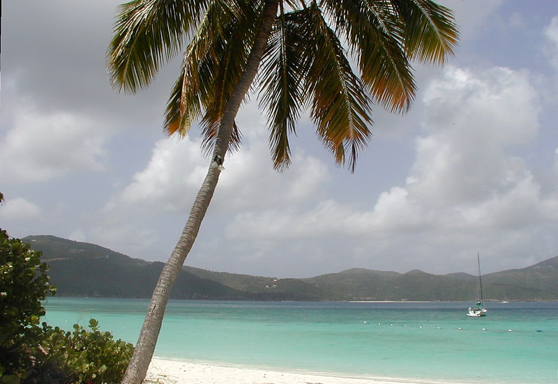 White Bay Beach, Guana Island, BVI
