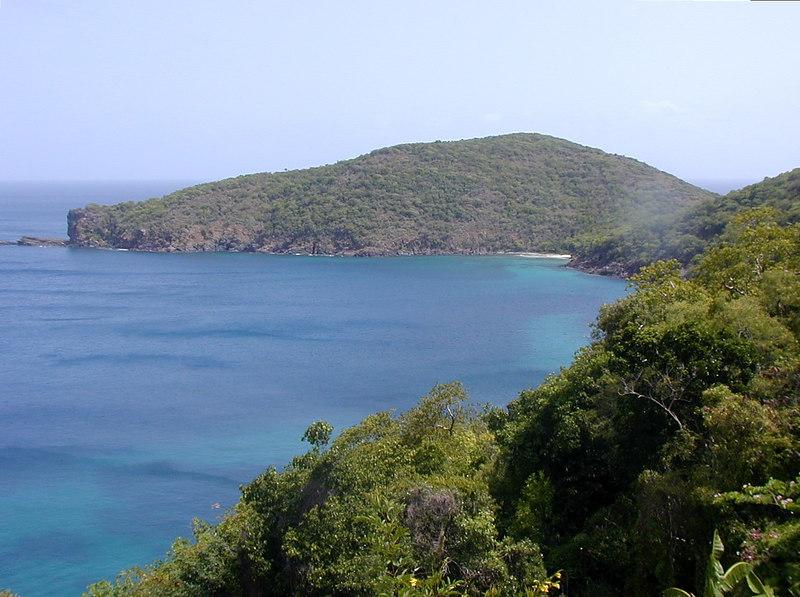 Muskmelon Bay, Guana Island, BVI