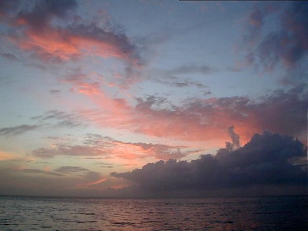 Sunset at Guana Island, BVI