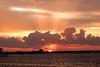 Sunset over Cozumel, Mexico