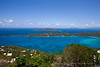 View of Megan's Bay from The Great House on St. Thomas, USVI