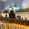 Convent of San Francisco Church - Diorama of how the church was built