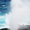 "The Blowhole at Punta Suarez, Española, <a target=""NEWWIN"" href=""http://en.wikipedia.org/wiki/Gal%C3%A1pagos_Islands"">Galápagos Islands</a>"