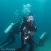 "Scuba diving at Cousin's Rock, <a target=""NEWWIN"" href=""http://en.wikipedia.org/wiki/Gal%C3%A1pagos_Islands"">Galápagos Islands</a>"