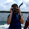 "Ready to go snorkeling, Genovesa, <a target=""NEWWIN"" href=""http://en.wikipedia.org/wiki/Gal%C3%A1pagos_Islands"">Galápagos Islands</a>"