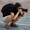 "Taking sea lion photos, San Cristóbal, <a target=""NEWWIN"" href=""http://en.wikipedia.org/wiki/Gal%C3%A1pagos_Islands"">Galápagos Islands</a>"