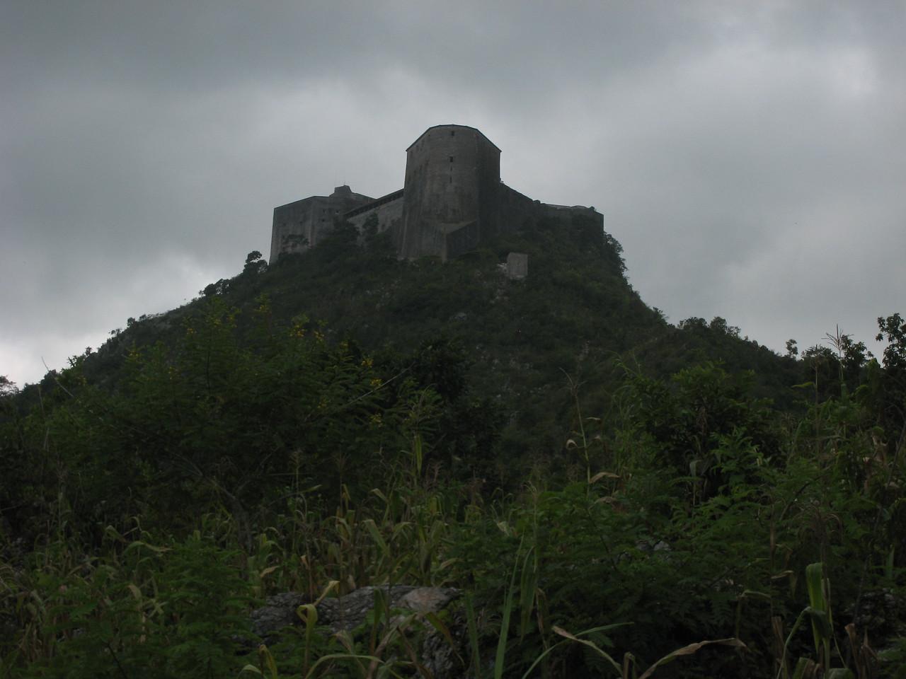 A view of La Citadel