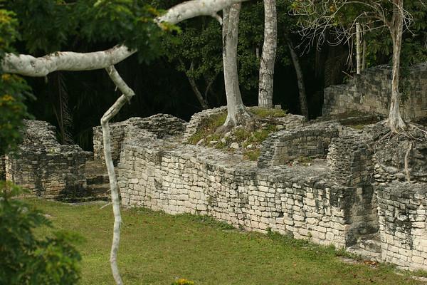 Kohunlich Mayan Ruins Mexico