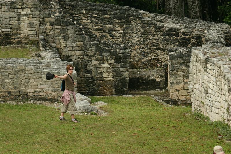 Terri n' some ruins