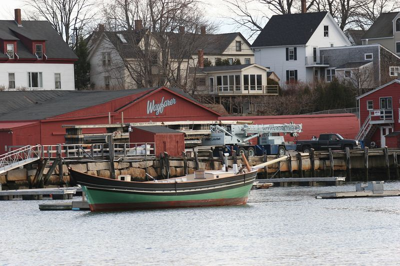 Camden Harbor, Dec 2004