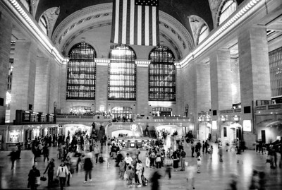 The Stereotypical Grand Central Long Exposure
