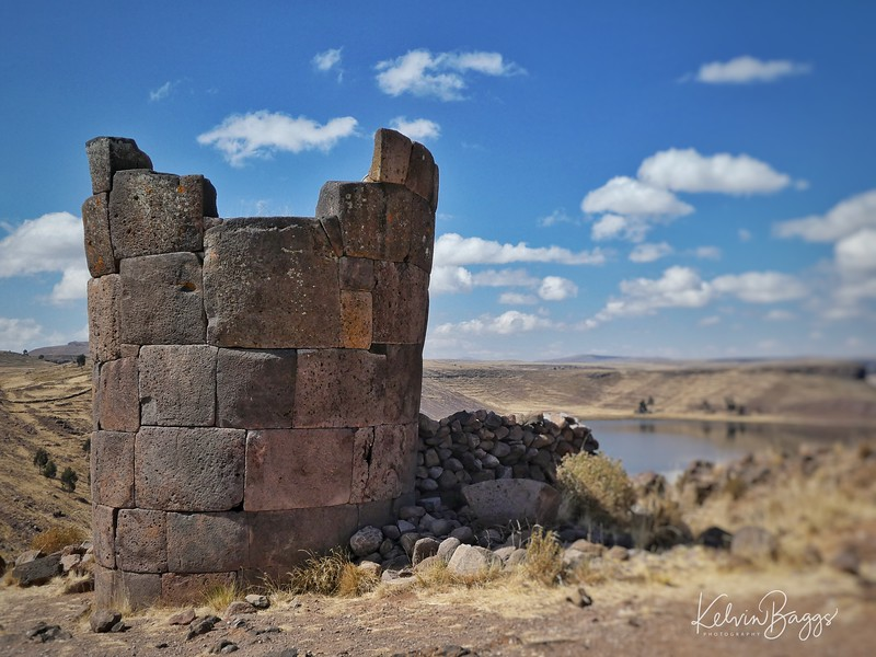 Puno - Sillustani archaeological site