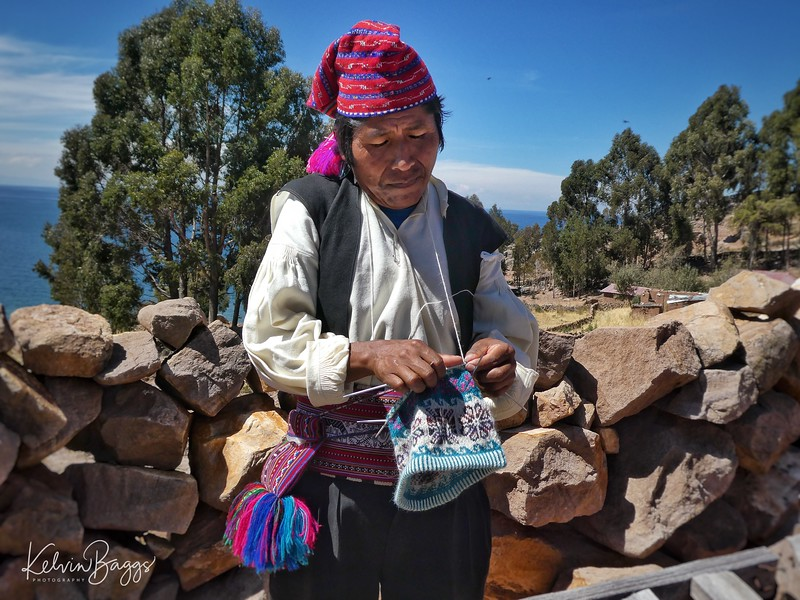 Taquile Island: real men knit!