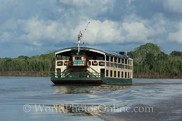 Amazon River - Aquamarina - Our Boat