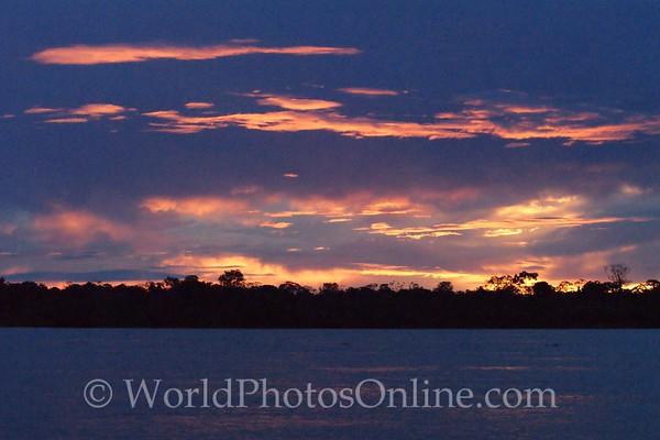 Amazon River - Sunset 5