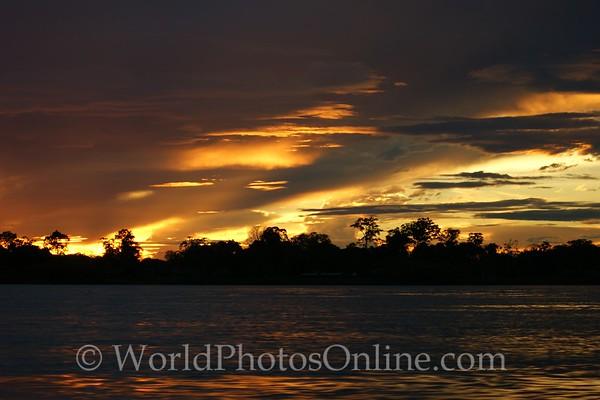 Amazon River - Sunset 6