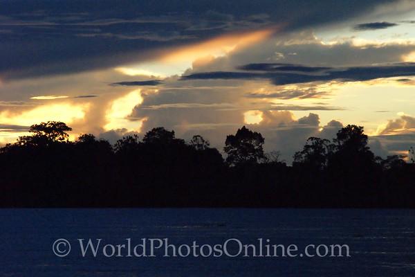 Amazon River - Sunset 3