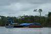 Amazon River - Barge Traffic