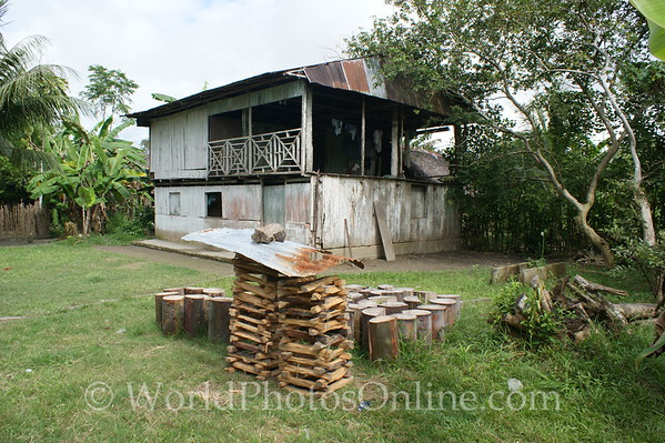 Amazon River - Village of Cedro Isla - House 1