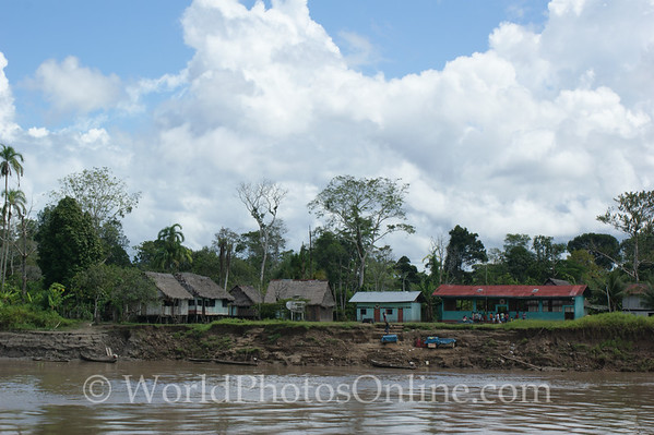 Amazon River - Village of Cedro Isla 1