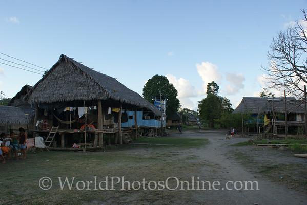 Amazon River - Village of San Jose de Parandpura 3