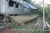 Amazon River - Village of San Jose de Parandpura - Carpenter House with boat