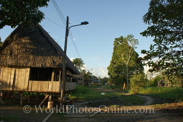 Amazon River - Village of San Jose de Parandpura 2