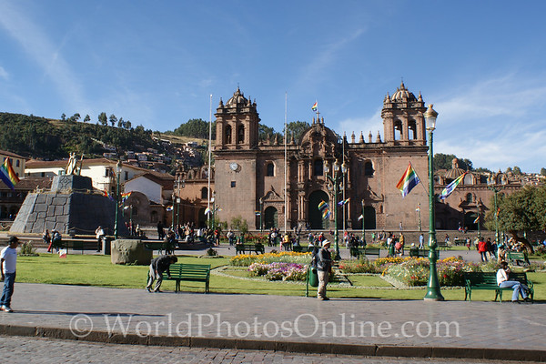 Cusco - Plaza de Armes & Cathedral
