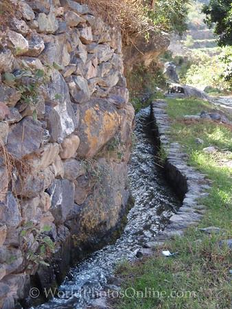 Sacred Valley - Inca Aqueduct