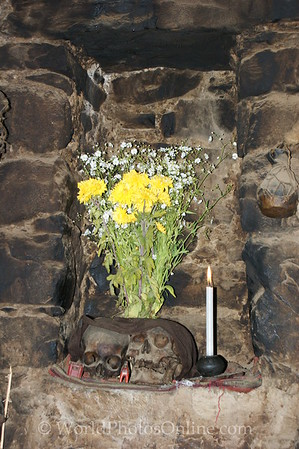 Ollantaytambo - Traditional One Room Home - Ceremonial Nich