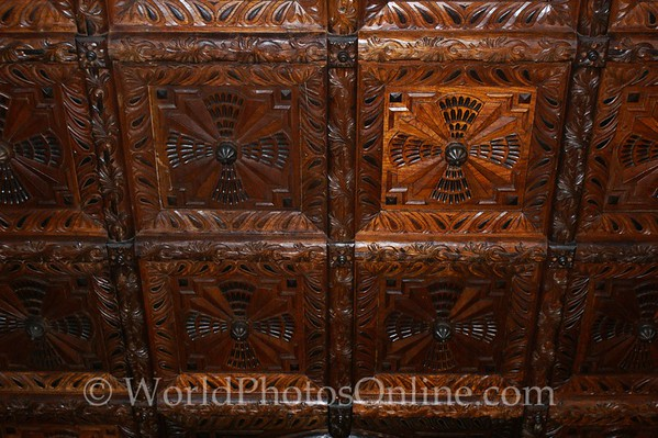 Lima - Aliaga House - Dining Room - Ceiling Tiles