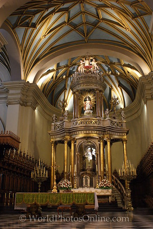 Lima - Cathedral - Main Altar
