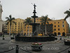 Lima - Plaza Mayor - Fountain
