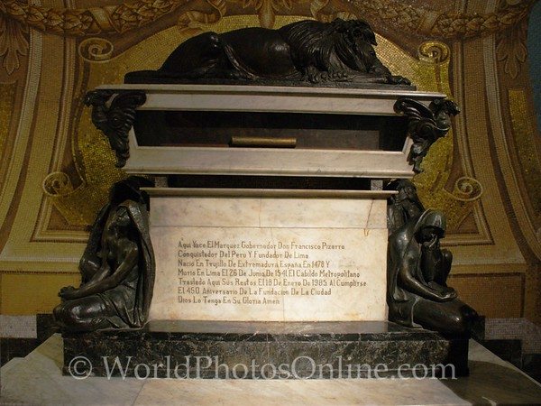 Lima - Cathedral - Pizarro's Tomb 1