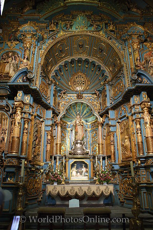 Lima - Cathedral - Side Altar 3