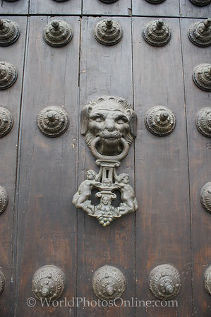 Lima - Cathedral - Door Knocker