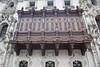 Lima - Archbishop's Palace - cedar balcony