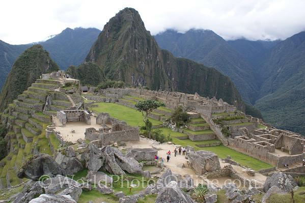 Machu Picchu - Temple Sector