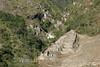 Inca Ruins by Waterfall