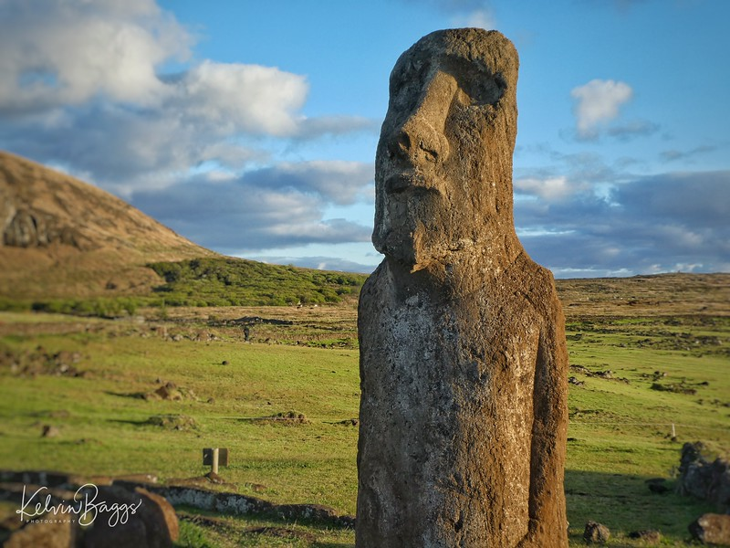 Moai (Ahu Tongariki) at sunrise